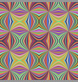 colorful abstract hypnotic seamless striped vector image vector image