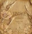 congratulation vintage background vector image vector image