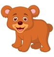 Cute baby bear cartoon vector | Price: 1 Credit (USD $1)