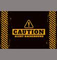 cution alert warning background design vector image vector image