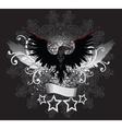 Dark Raven Emblem vector image vector image