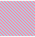 pink background with white and blue strips vector image vector image