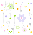 Spring Fresh Pattern vector image vector image
