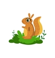 Squirrel Friendly Forest Animal vector image vector image