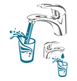 water tap image vector image vector image