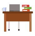 Work place vector image