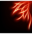 Abstract red background EPS 10 vector image vector image