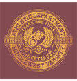 Athletic department vector | Price: 1 Credit (USD $1)