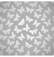 Beautiful seamless pattern with butterflies vector image