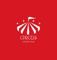circus logo template vector image