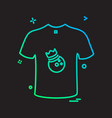 cloths icon design vector image