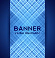 Dark Blue Digital Banner vector image vector image