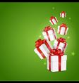 gift box background12 V vector image