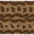 horizontal seamless texture with waves vector image vector image