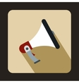 Loudspeaker icon in flat style vector image vector image