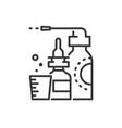 medicines - line design single isolated icon vector image vector image