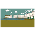 Seaside Townscape vector image
