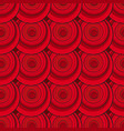 textured pattern red abstract background vector image