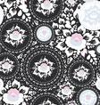 vintage shabchic seamless ornament pattern vector image vector image