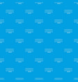 xylophone pattern seamless blue vector image vector image