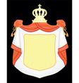 empty coat of arms vector image