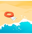 background beach vector image