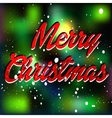 Merry christmas wool background vector image vector image