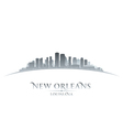 New Orleans Louisiana city skyline silhouette vector image vector image