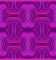 purple abstract hypnotic seamless striped spiral vector image vector image