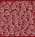seamless pattern with clouds in chinese style vector image vector image