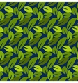Stylized cartoon dense foliage seamless pattern vector image vector image
