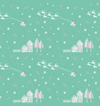 christmas seamless pattern with santa clause vector image vector image