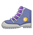 climb boots icon cartoon style vector image