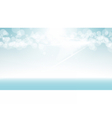 Digital abstract empty light blue vector image vector image