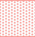 seamless pattern with pig heels vector image vector image