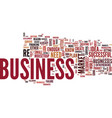 the number one reason for business failure text vector image vector image