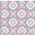 abstract geometric seamless pattern floral vector image vector image