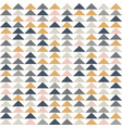 abstract geometric seamless pattern triangle vector image vector image