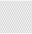 chain link fence seamless pattern vector image vector image