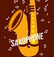 jazz festival instruments vector image vector image