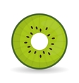 kiwi icon design vector image vector image