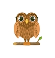 Owl Friendly Forest Animal vector image vector image