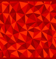 red crumpled paper with geometric seamless vector image