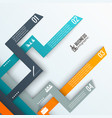 business infographics layout vector image
