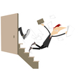 Business punish concept vector image vector image