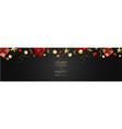 christmas background creative design vector image vector image