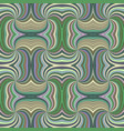 colorful abstract hypnotic seamless striped swirl vector image vector image