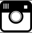 hipster camera photo vector image