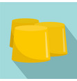honey figure icon flat style vector image