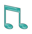 note music harmony melody song icon vector image vector image